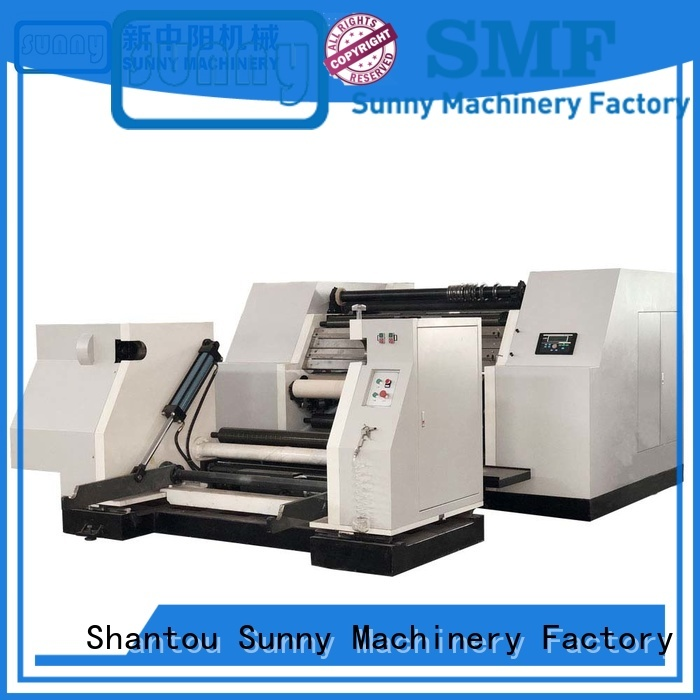 digital slitting and rewinding machine paper customized for production