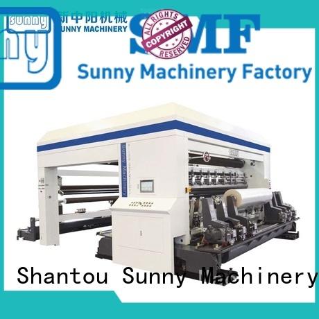 Sunny film rewinder slitter customized bulk production