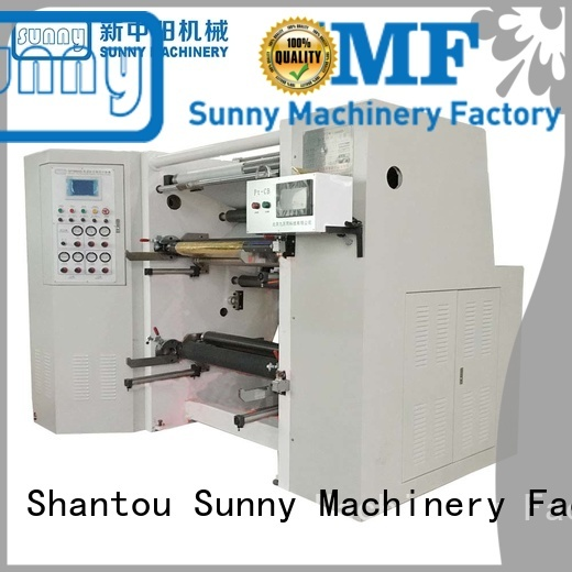 speed slitting & rewinding machine customized for factory Sunny