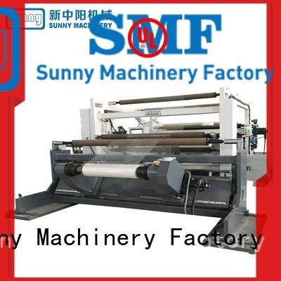 thermal slitting and rewinding machine jumbo customized bulk production