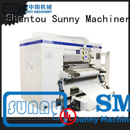 film slitter machine manufacturers high speed bulk production Sunny
