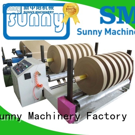 Sunny line rewind slitting machines supplier for factory
