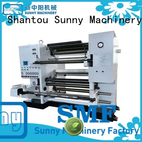 Sunny low cost non woven slitting machine supplier for production