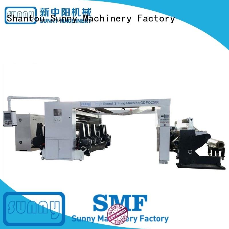 Sunny horizontal rewinding machinery wholesale at discount