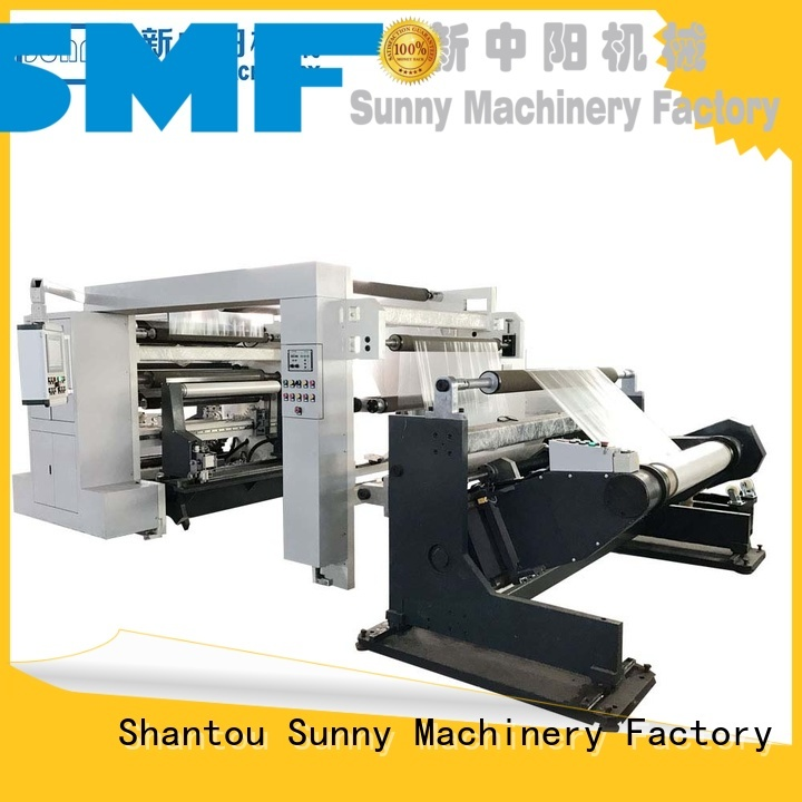 high quality slitting and rewinding machine machine customized for factory