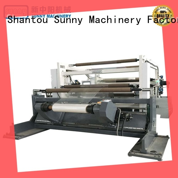 Sunny horizontal slitting and rewinding machine manufacturer at discount