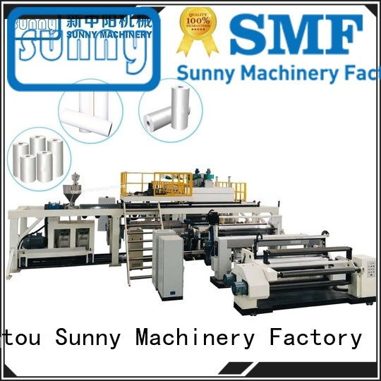 Sunny single pe coating machine tb1800 for laminating