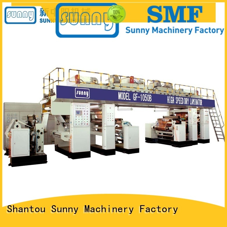 Sunny dual extrusion coating machine customized for protection film