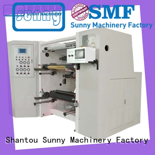 Sunny digital slitting and rewinding machine manufacturers high speed for factory