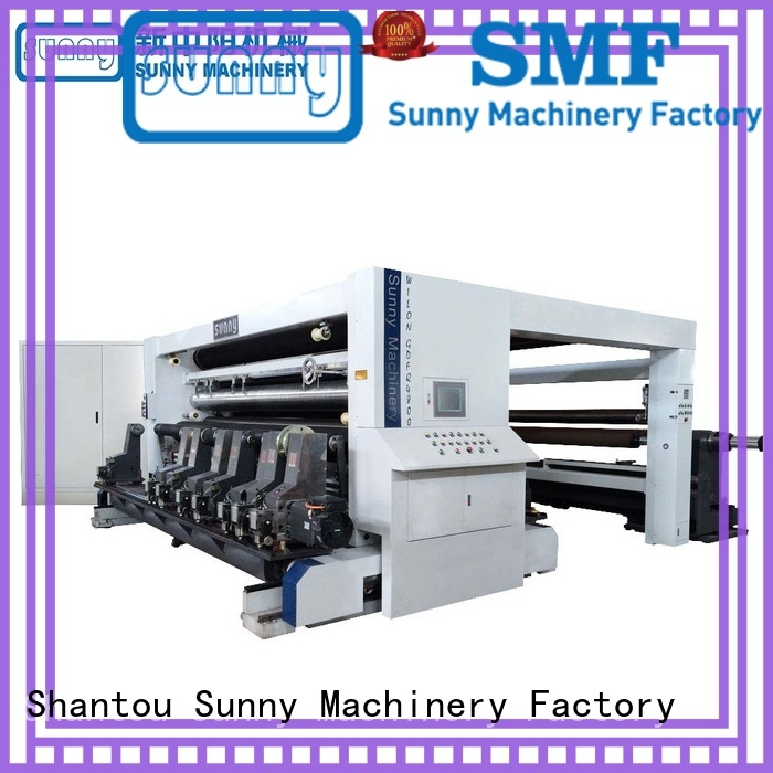 Sunny thermal rewinder slitter model for production