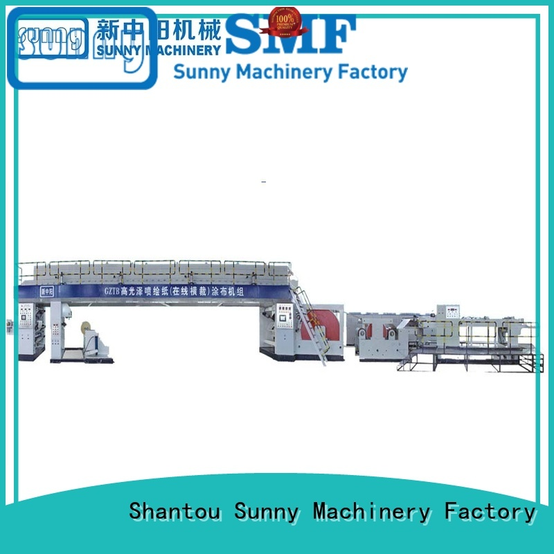 single extrusion coating machine dual customized for packaging