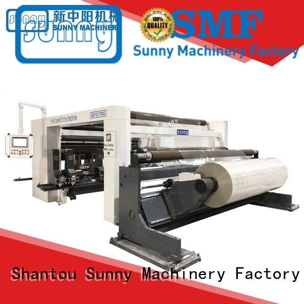 Sunny digital slitting and rewinding machine customized for production