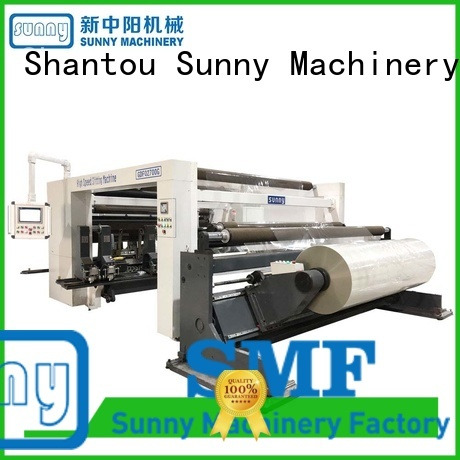 model slitter rewinder roll bulk production Sunny