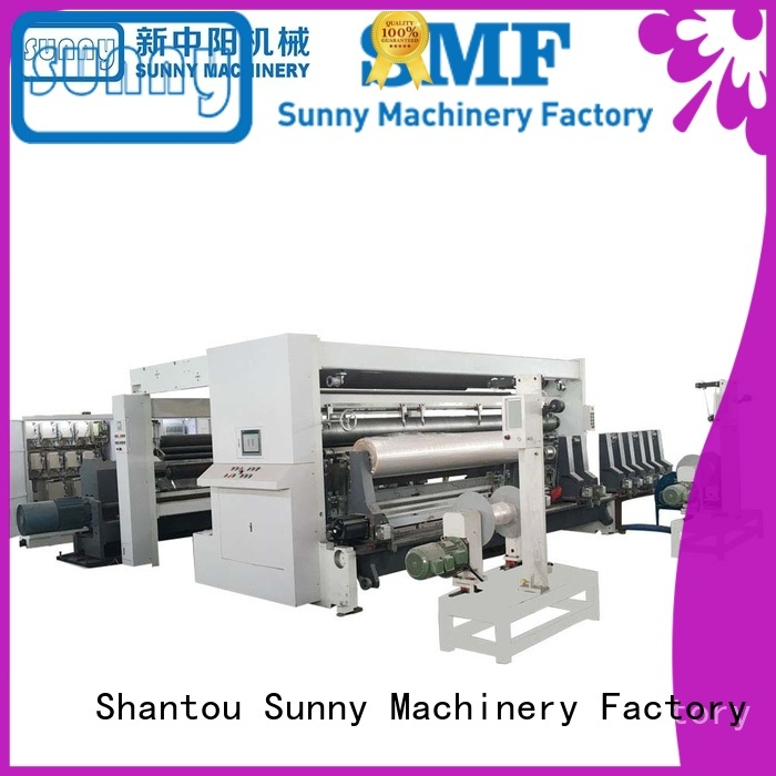 Sunny thermal slitter rewinder machine customized bulk production