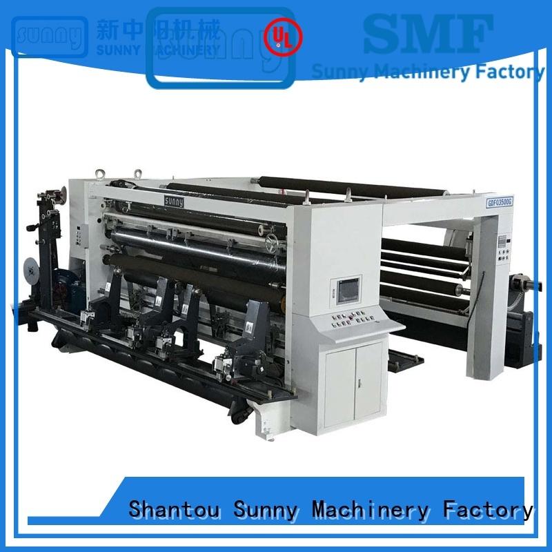 Sunny model slitting & rewinding machine wholesale for production