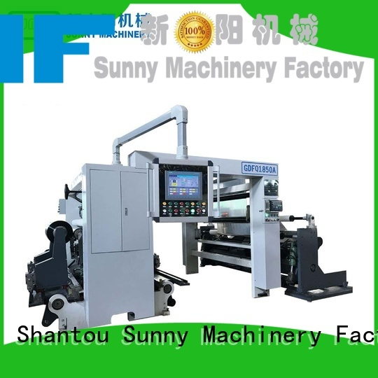 Sunny thermal slitter rewinder machine supplier for factory