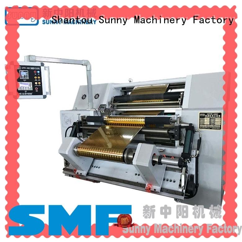 Sunny film slitting rewinding machine manufacturer bulk production