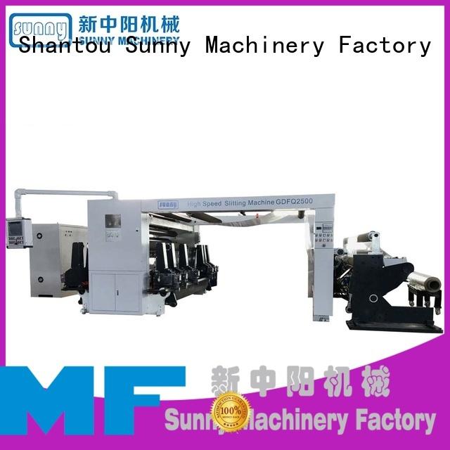 Sunny gantry rewinder slitter manufacturer for production