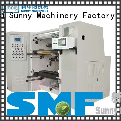 Sunny low cost rewinder slitter machine supplier for production