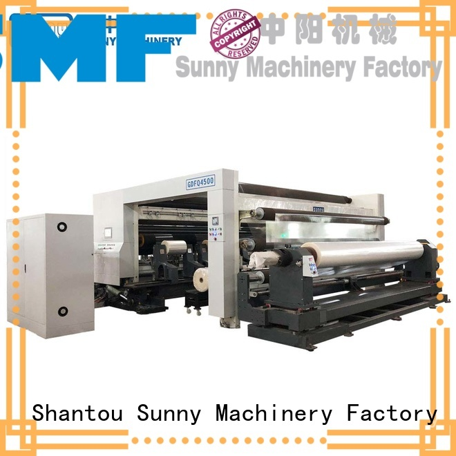Sunny digital slitting and rewinding machine customized at discount