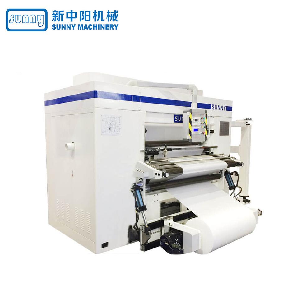 High Speed Slitter Machine Horizontal Type Model GFTW1280C1