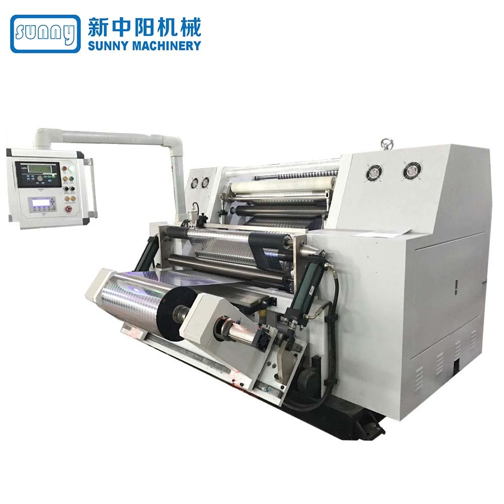 High Speed Slitting Machine for Paper Horizontal Type Model GFTW900A