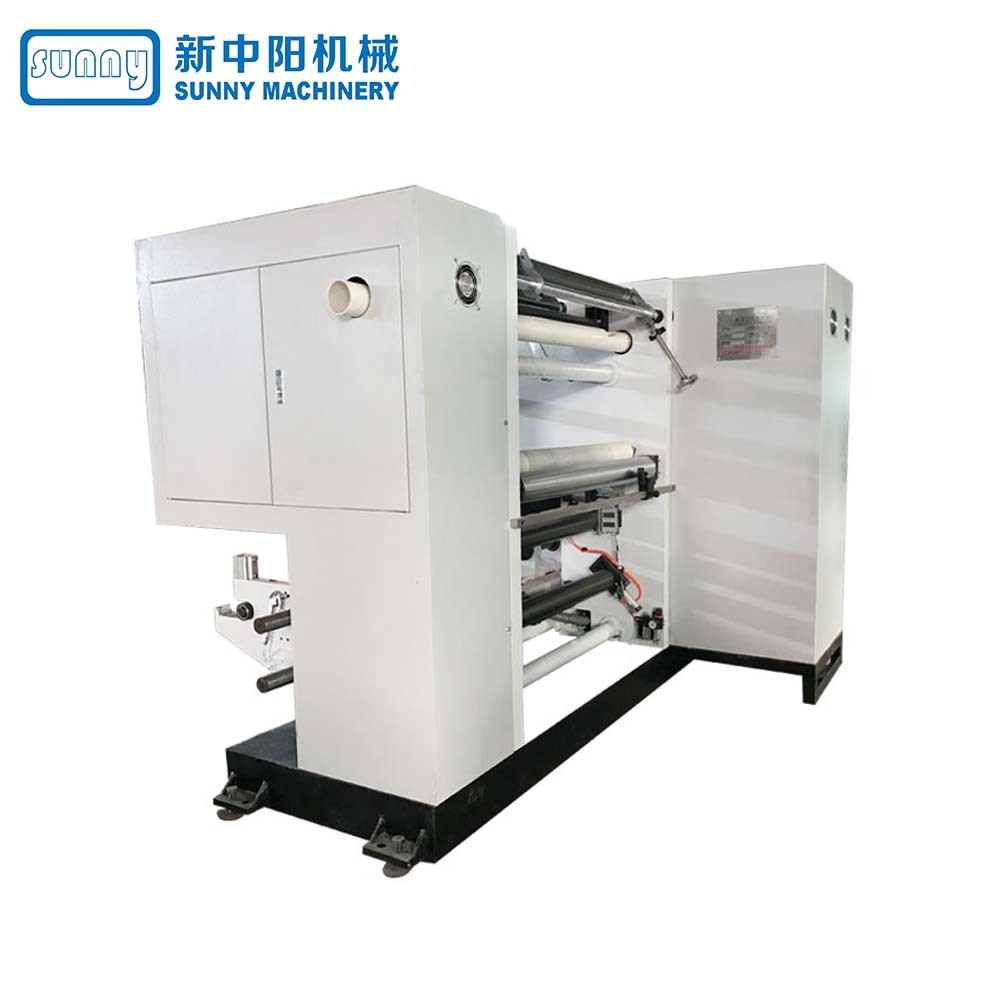 Sunny High Speed Thermal Paper Slitting Machine Horizontal Type Model GHJ900A1