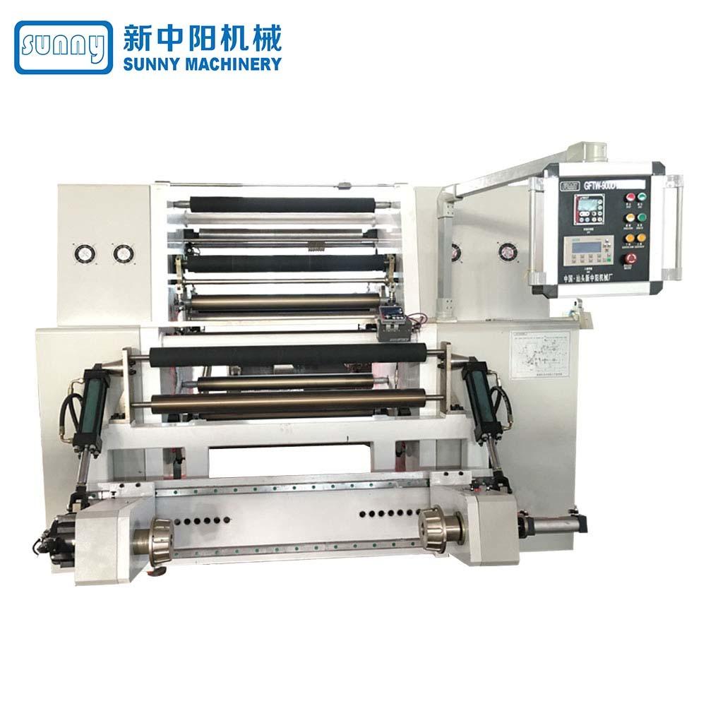 High Speed Slitting Machine Horizontal Type Model GFTW900D3