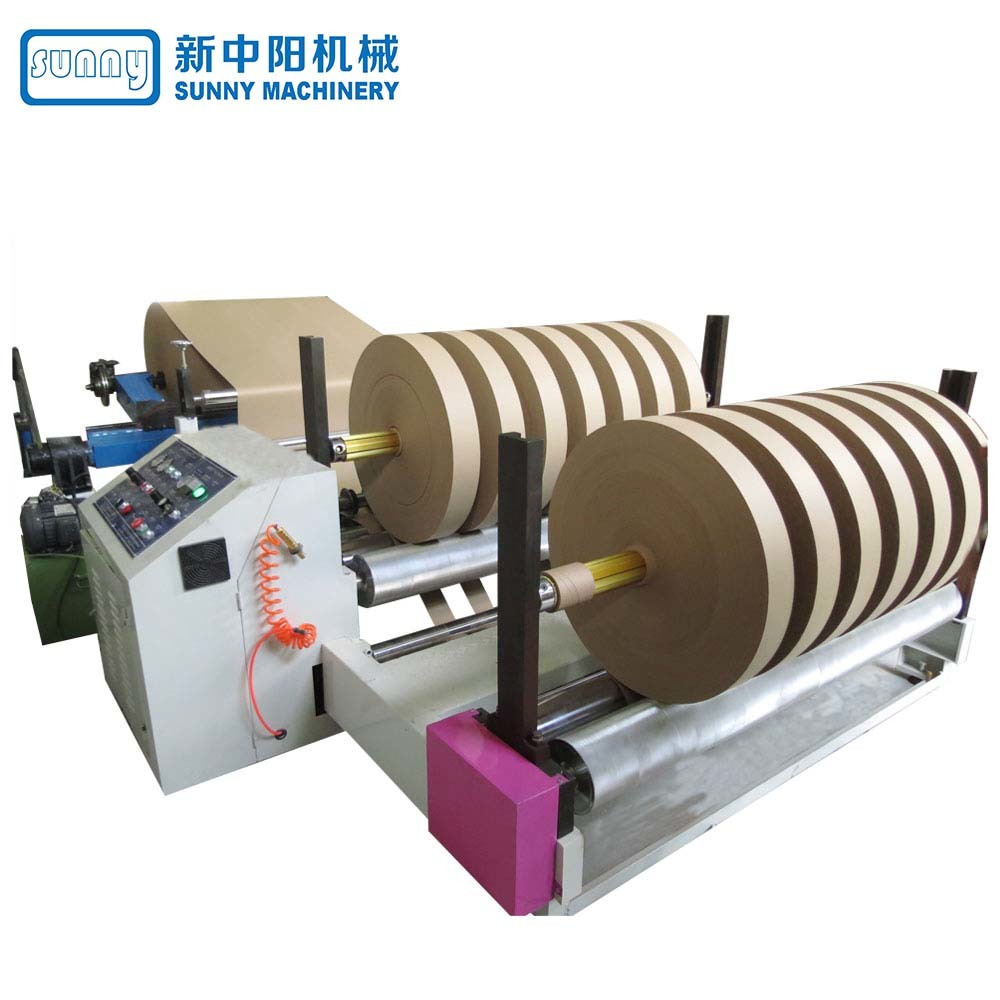 High Quality Jumbo Roll Paper Slitting Machine Model GDQZ2500