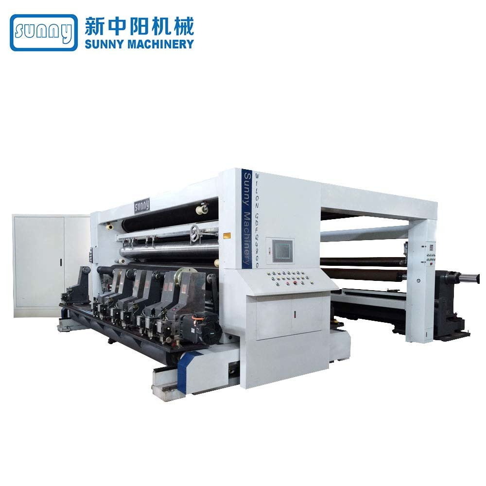 High Speed Paper Slitting Machine Gantry Type Model GDFQ4800