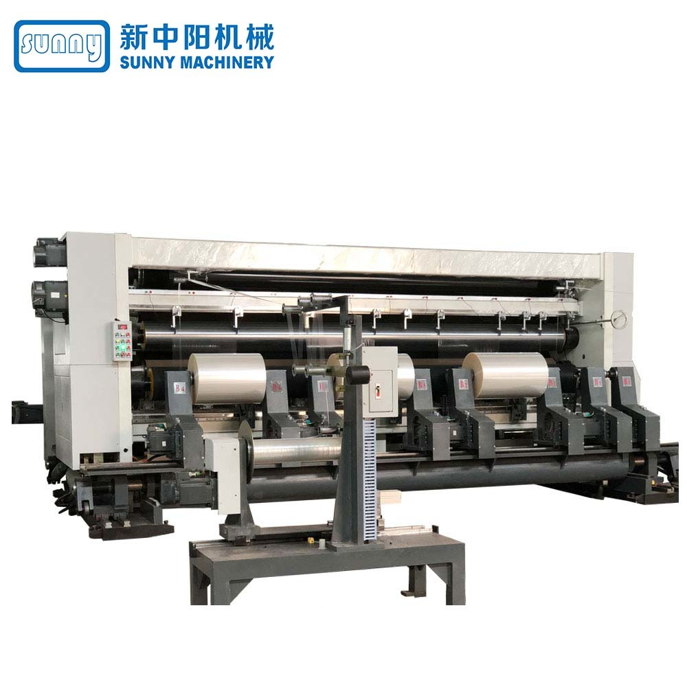High Speed Thermal Paper Slitting And Rewinding Machine Gantry Type Model GDFQ4500