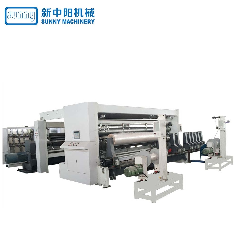 High Speed Paper Roll Slitting Machine Gantry Type Model GDFQ3500