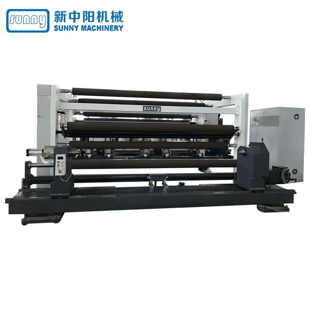 High Speed Film Slitting Machine Gantry Type Model GDFQ3500G
