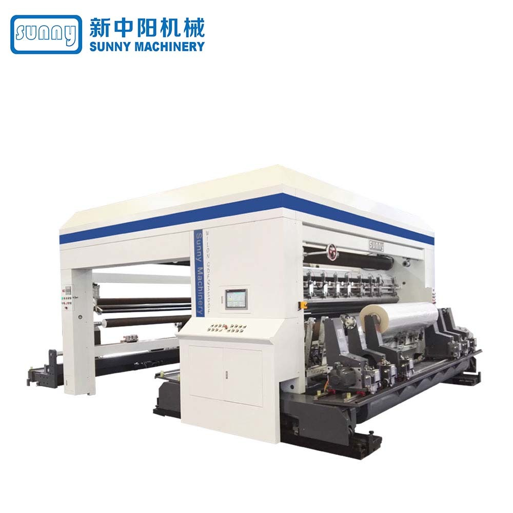 High Speed Slitting & Rewinding Machine Gantry Type Model GDFQ3500F