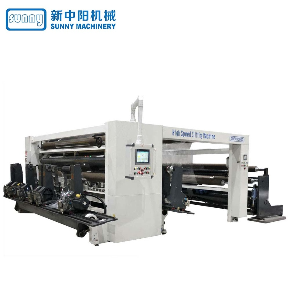 High Speed Slitting Machine for Paper Gantry Type Model GDFQ3500