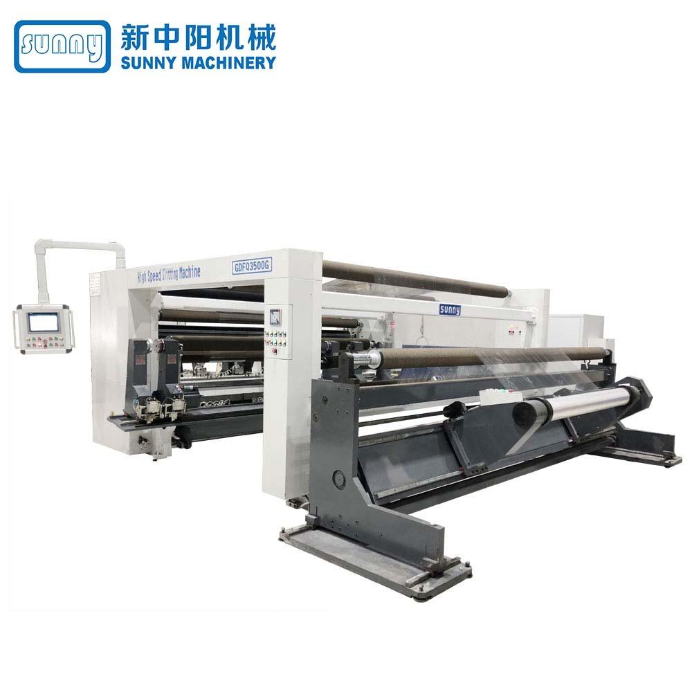 High Speed Slitting Machine for Paper Gantry Type Model GDFQ3500