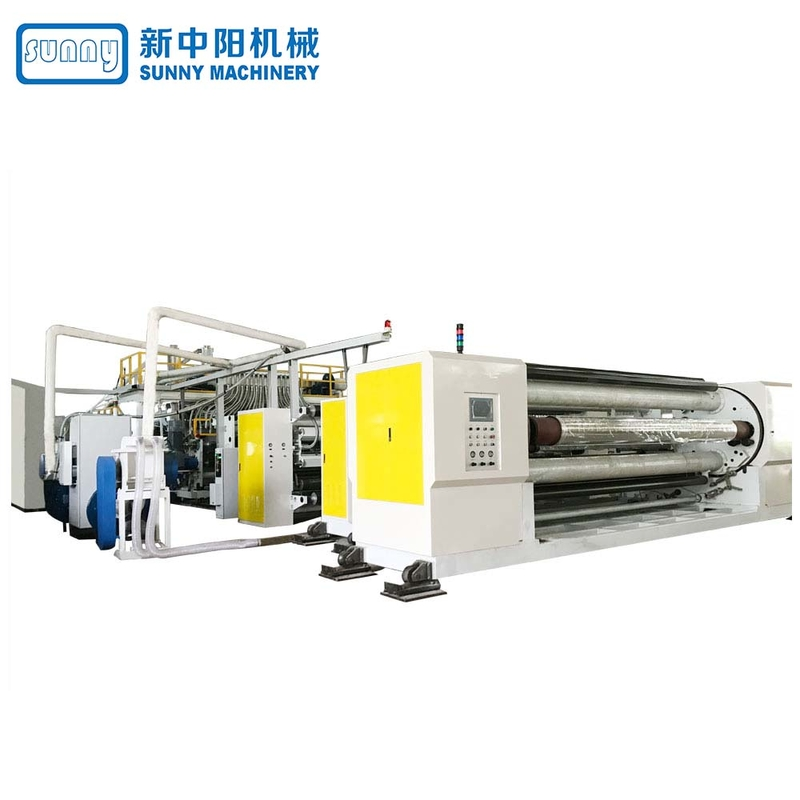 Sunny sanitary film casting machine customized for factory