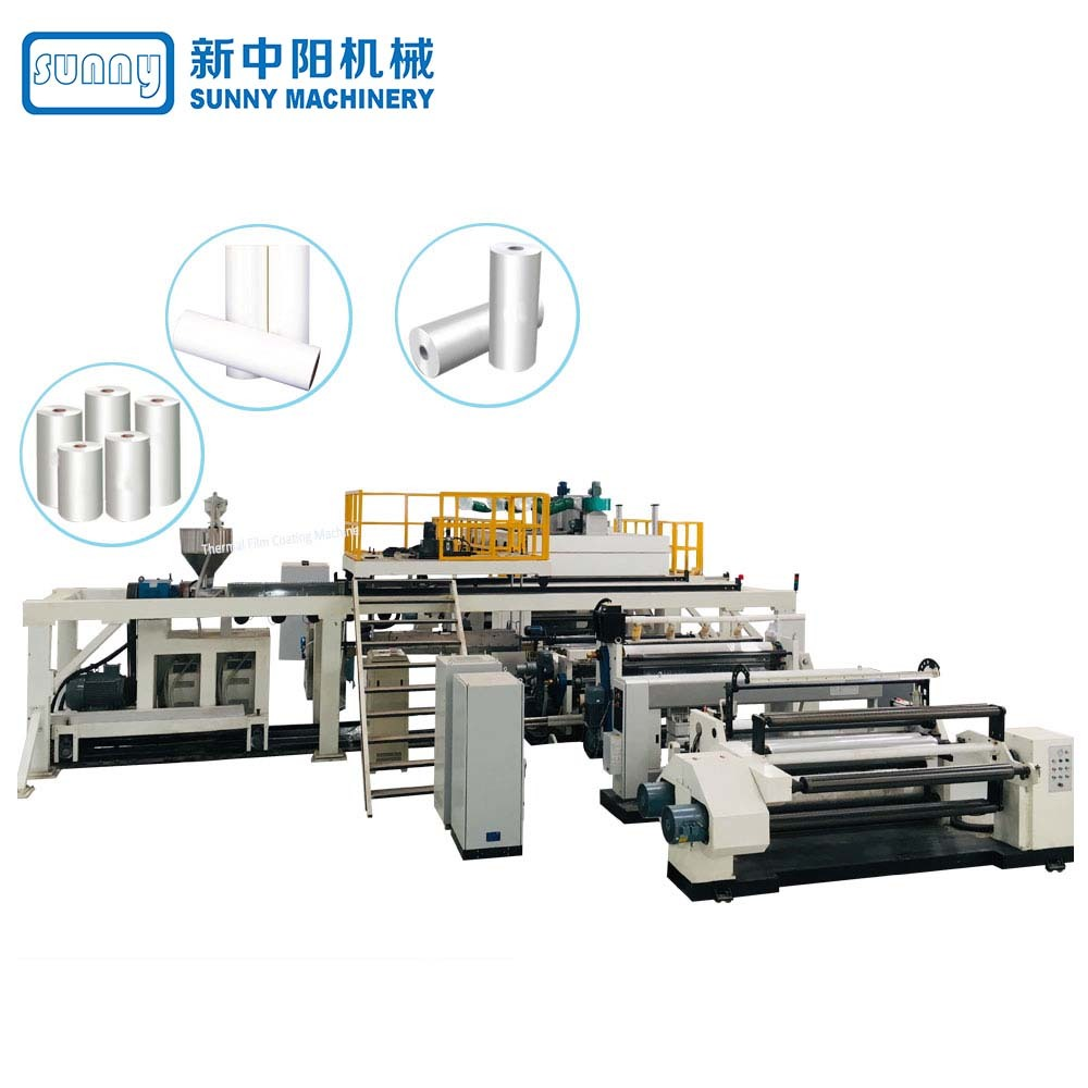 Single-screw Single T-DIE Extrusion Coating Machine
