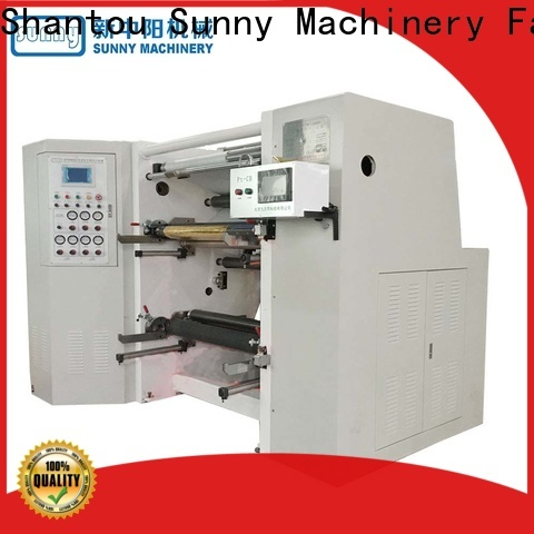 Sunny digital slitting and rewinding machine supplier for production