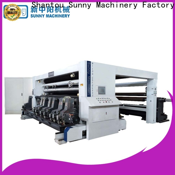 Sunny model slitting machines manufacturer for factory