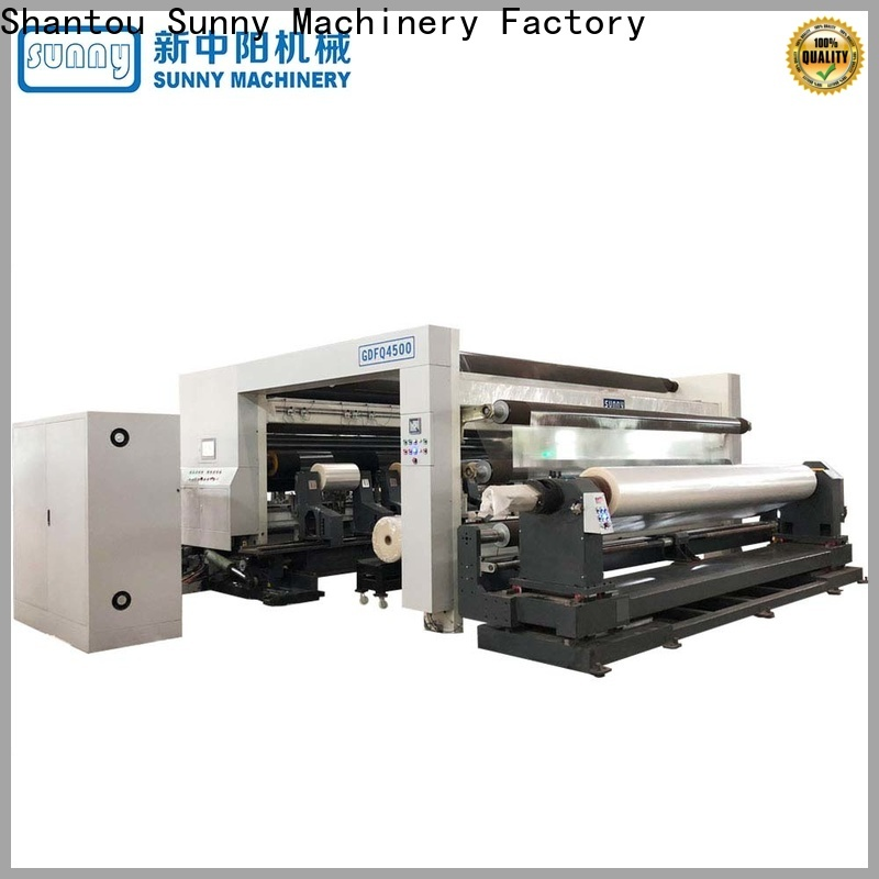 Sunny jumbo slitting machines manufacturer at discount