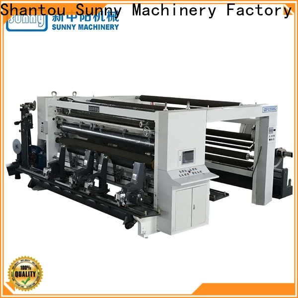 Sunny thermal rewinder slitter machine supplier for production