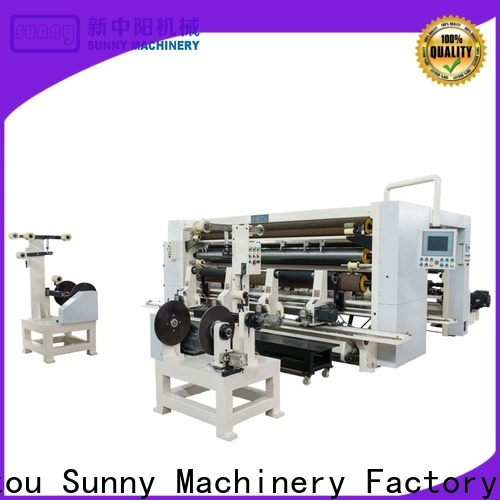 Sunny low cost rewinder slitter supplier at discount