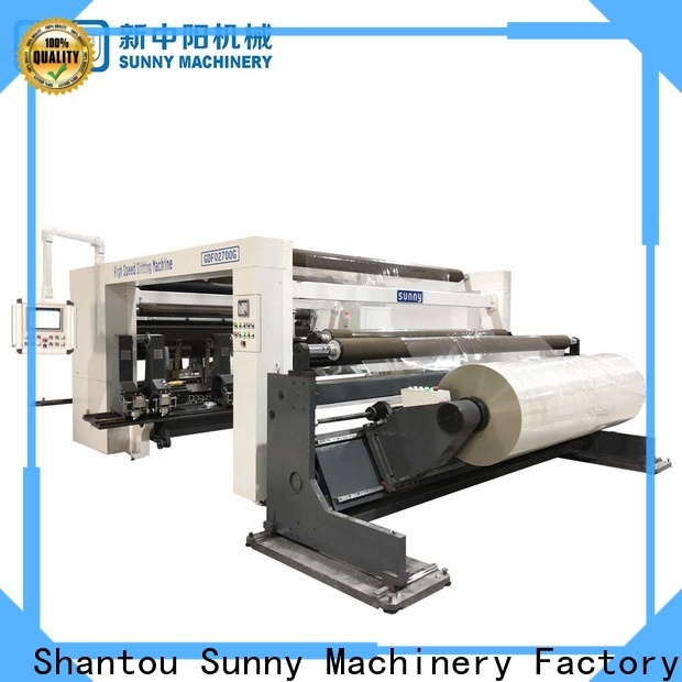 Sunny Sunny slitter rewinder customized bulk production