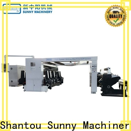Sunny low cost slitting and rewinding machine customized bulk production