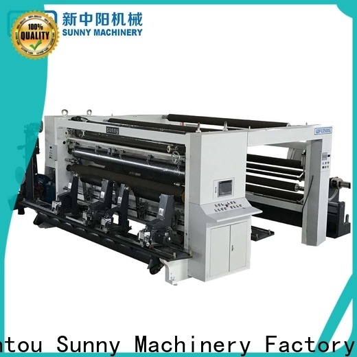 Sunny Sunny slitting rewinding machine manufacturer for factory