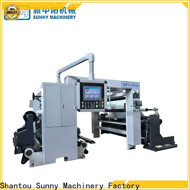 Sunny model slitting rewinding machine wholesale for sale