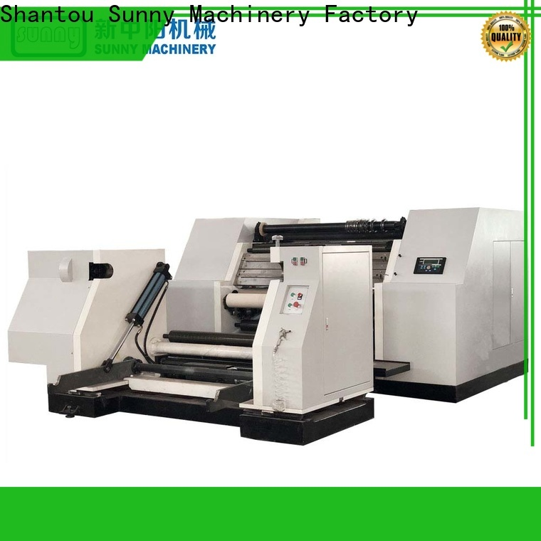 jumbo rewinder slitter machine rewind supplier for factory