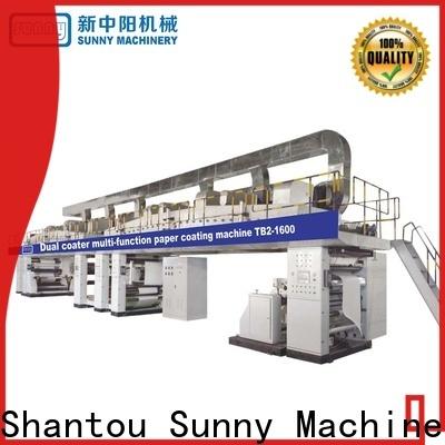 single lamination coating machine gztb1100 wholesale for protection film