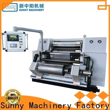 Sunny digital slitter rewinder machine customized bulk production